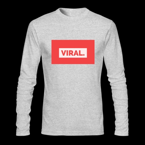 VIRAL. - Men's Long Sleeve T-Shirt by Next Level