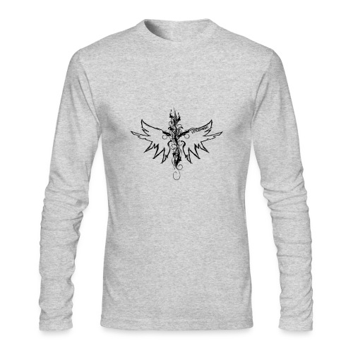 peace.love.good karma - Men's Long Sleeve T-Shirt by Next Level