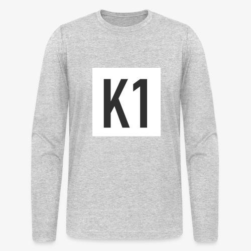 K1 Logo - Men's Long Sleeve T-Shirt by Next Level