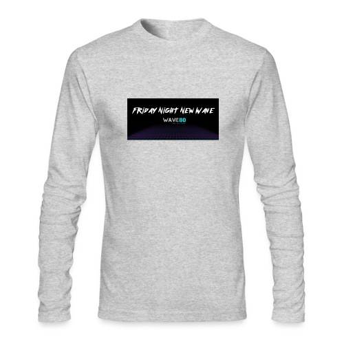 Friday Night New Wave - Men's Long Sleeve T-Shirt by Next Level