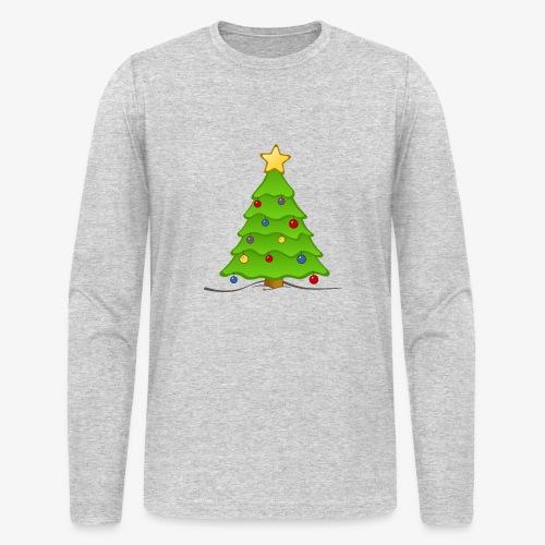 christmas tree - Men's Long Sleeve T-Shirt by Next Level