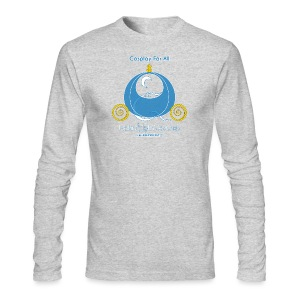 Cosplay For All: Cinderella - Men's Long Sleeve T-Shirt by Next Level