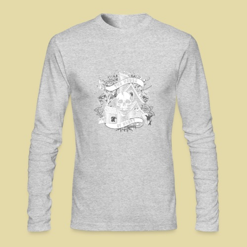 hoh_tshirt_skullhouse - Men's Long Sleeve T-Shirt by Next Level