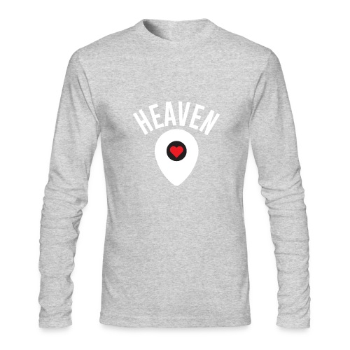 Heaven Is Right Here - Men's Long Sleeve T-Shirt by Next Level