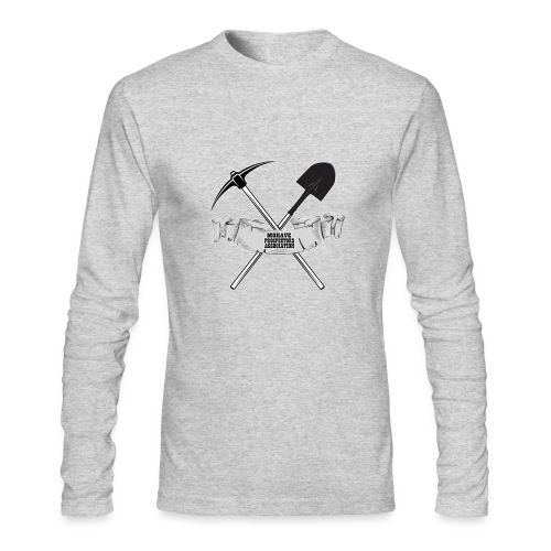 2018 new - Men's Long Sleeve T-Shirt by Next Level