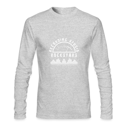 Recording Studio Rockstars - White Logo - Men's Long Sleeve T-Shirt by Next Level