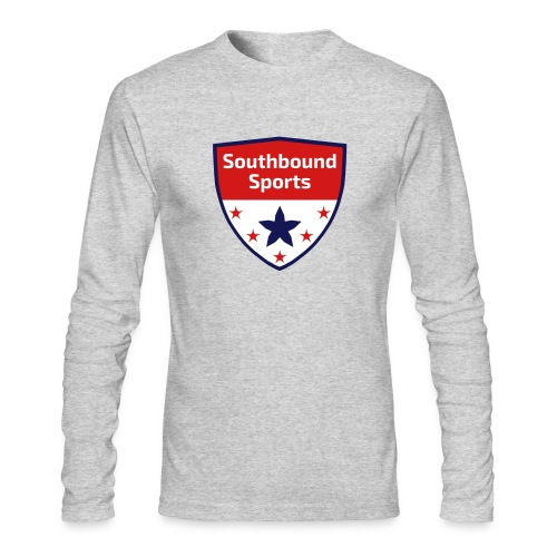 Southbound Sports Crest Logo - Men's Long Sleeve T-Shirt by Next Level