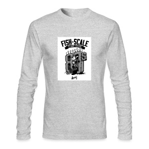 fish scale design - Men's Long Sleeve T-Shirt by Next Level