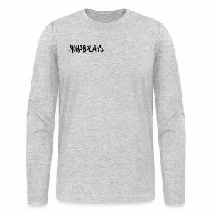 MohabPlays Plain Logo - Men's Long Sleeve T-Shirt by Next Level
