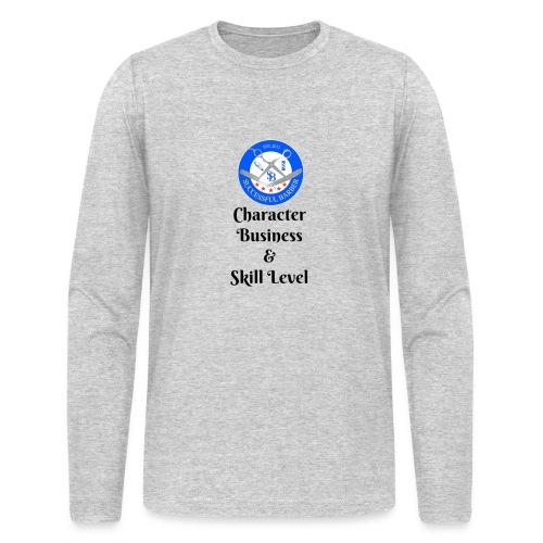 SB Seal Design - Men's Long Sleeve T-Shirt by Next Level