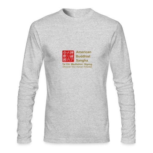 American Buddhist Sangha / Zen Do USA - Men's Long Sleeve T-Shirt by Next Level