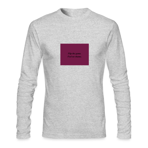 no shame - Men's Long Sleeve T-Shirt by Next Level