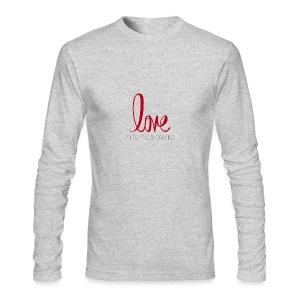 love my husband - Men's Long Sleeve T-Shirt by Next Level
