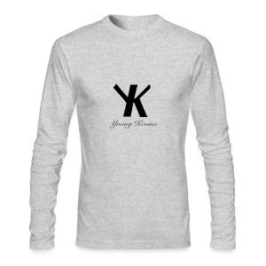 Young Kevino Official Logo (Black) - Men's Long Sleeve T-Shirt by Next Level