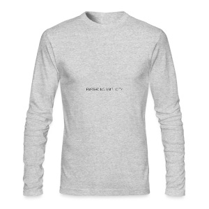 EMBRACING SIMPLICITY - Men's Long Sleeve T-Shirt by Next Level