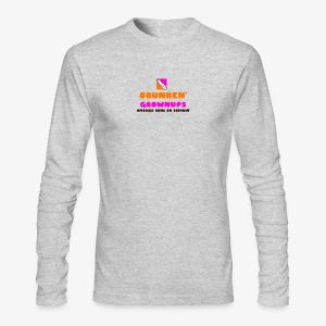 DRUNKEN GROWNUPS - Men's Long Sleeve T-Shirt by Next Level