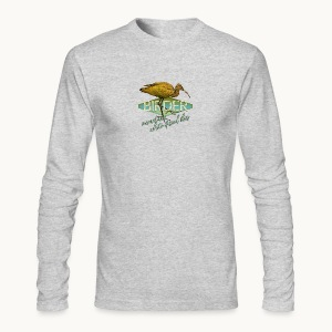 BIRDER - White-faced ibis - Carolyn Sandstrom - Men's Long Sleeve T-Shirt by Next Level