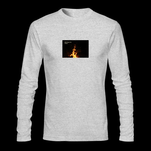 the flames - Men's Long Sleeve T-Shirt by Next Level