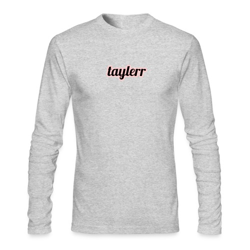 Taylerr Brand Bold Logo // 2nd collection // - Men's Long Sleeve T-Shirt by Next Level