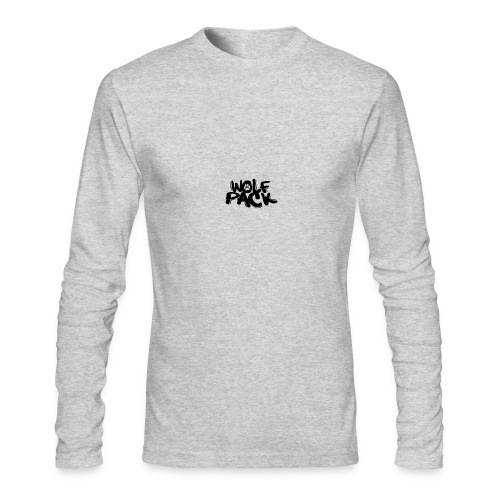 WolfPack Paw Logo - Men's Long Sleeve T-Shirt by Next Level