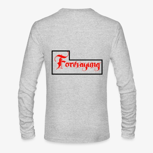 Forevayung on back - Men's Long Sleeve T-Shirt by Next Level