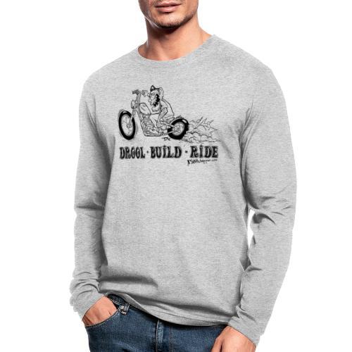 xs650 Chopper Ride - Men's Long Sleeve T-Shirt by Next Level