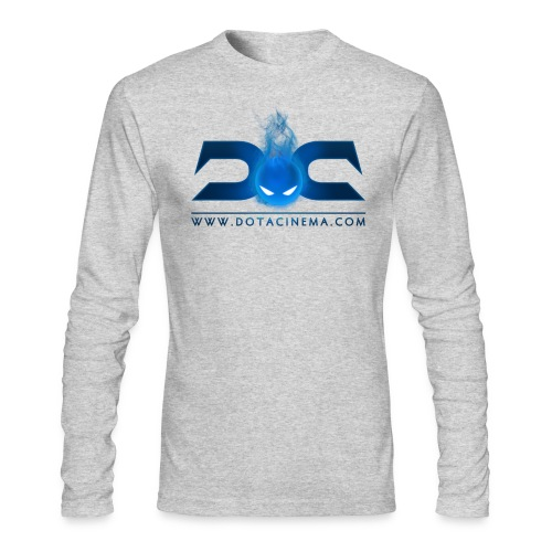 dotacinema logo psdfinal - Men's Long Sleeve T-Shirt by Next Level