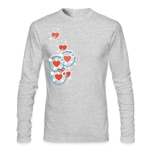 SuperHearts - Men's Long Sleeve T-Shirt by Next Level