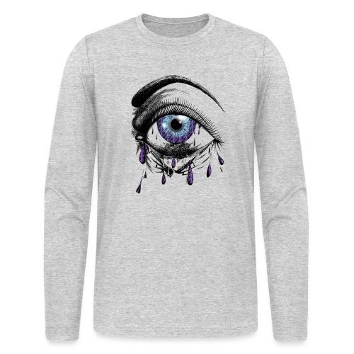 Lightning Tears - Men's Long Sleeve T-Shirt by Next Level