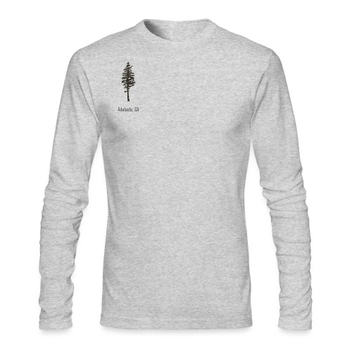 Adelaide logo - Men's Long Sleeve T-Shirt by Next Level