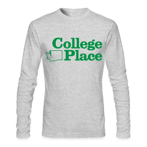 collegeplace01 - Men's Long Sleeve T-Shirt by Next Level