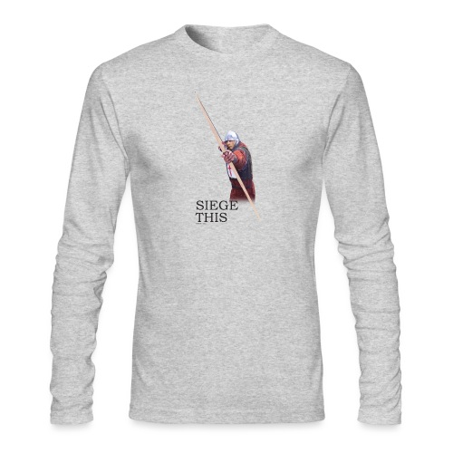 Siege This Mens standard T - Men's Long Sleeve T-Shirt by Next Level