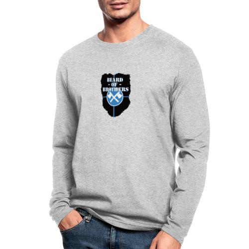 Beard Of Brothers - Men's Long Sleeve T-Shirt by Next Level