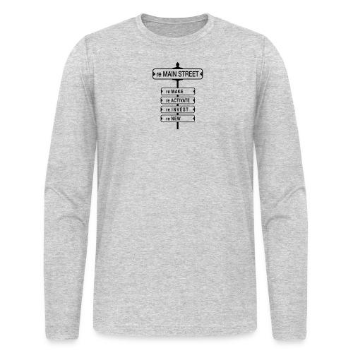 MainStreet_Front-ALT5 - Men's Long Sleeve T-Shirt by Next Level