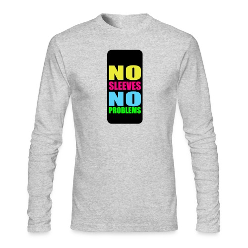 neonnosleevesiphone5 - Men's Long Sleeve T-Shirt by Next Level