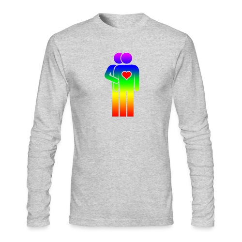 MAN LOVE RAINBOW PRIDE SPECIAL EDITION 2019 - Men's Long Sleeve T-Shirt by Next Level