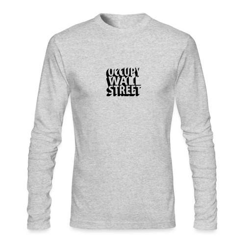 Occupy Wall Street beveled - Men's Long Sleeve T-Shirt by Next Level
