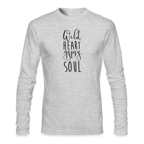 Cosmos 'Wild Heart Gypsy Sould' - Men's Long Sleeve T-Shirt by Next Level