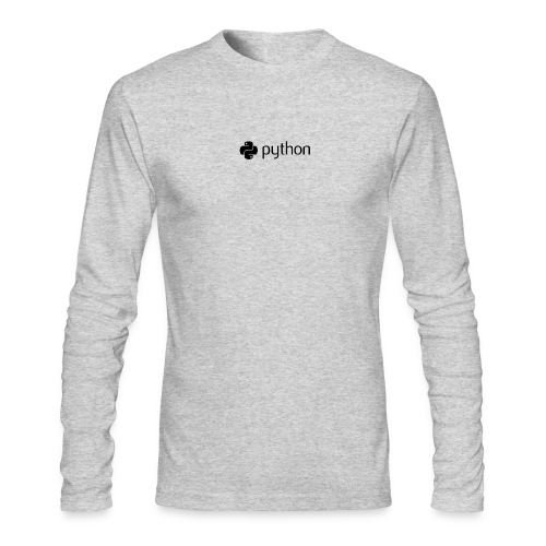 python logo - Men's Long Sleeve T-Shirt by Next Level