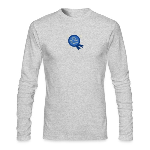 Regret - Men's Long Sleeve T-Shirt by Next Level