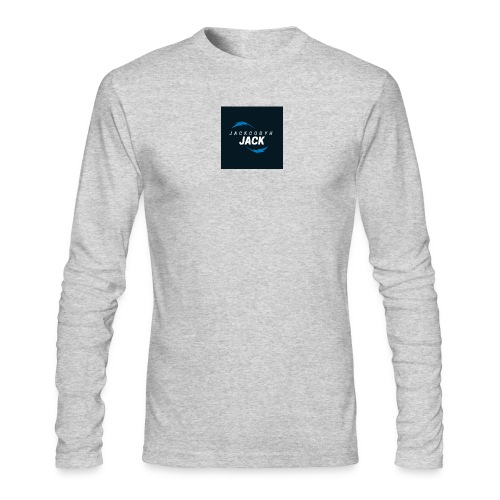 JackCodyH blue lightning bolt - Men's Long Sleeve T-Shirt by Next Level