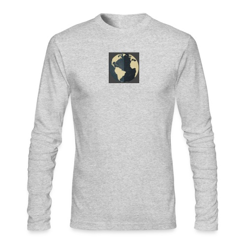 The world as one - Men's Long Sleeve T-Shirt by Next Level