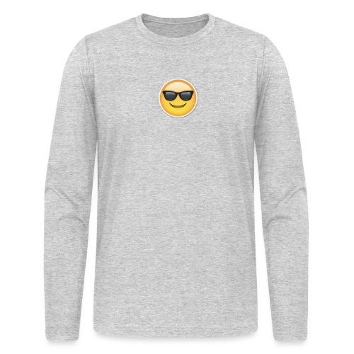 sunglasses emojicon mug & phone case - Men's Long Sleeve T-Shirt by Next Level