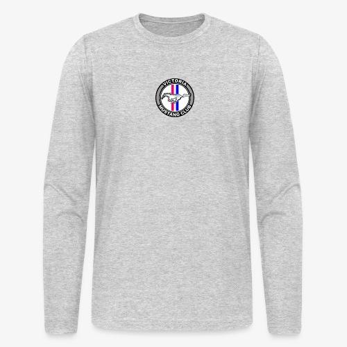Victoria Mustang Club Logo - Men's Long Sleeve T-Shirt by Next Level