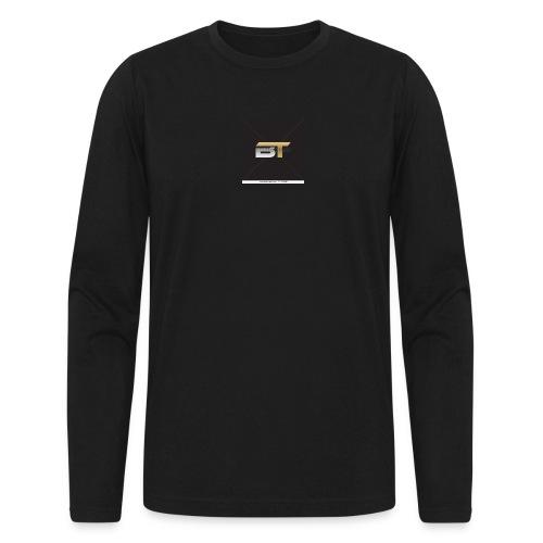 BT logo golden - Men's Long Sleeve T-Shirt by Next Level