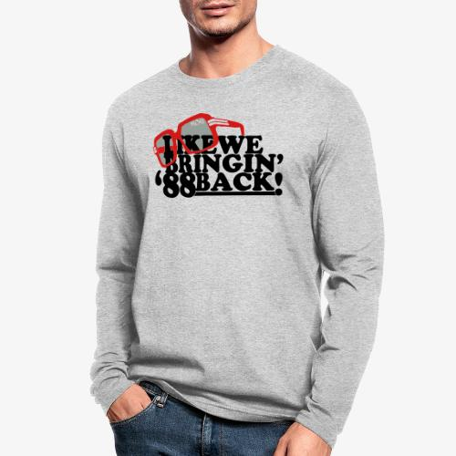 88back2 - Men's Long Sleeve T-Shirt by Next Level