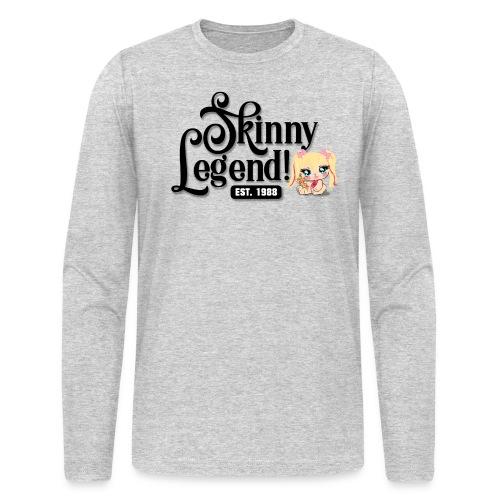 Skinny Legend_onwhite - Men's Long Sleeve T-Shirt by Next Level