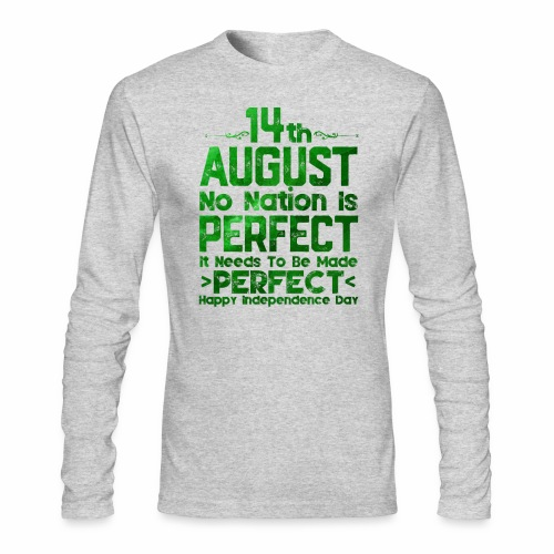 14th August Independence Day - Men's Long Sleeve T-Shirt by Next Level
