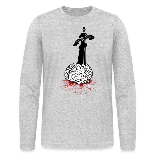 Sword in Brain - Men's Long Sleeve T-Shirt by Next Level