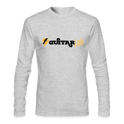 GUITARlab Black / yellow - Men's Long Sleeve T-Shirt by Next Level